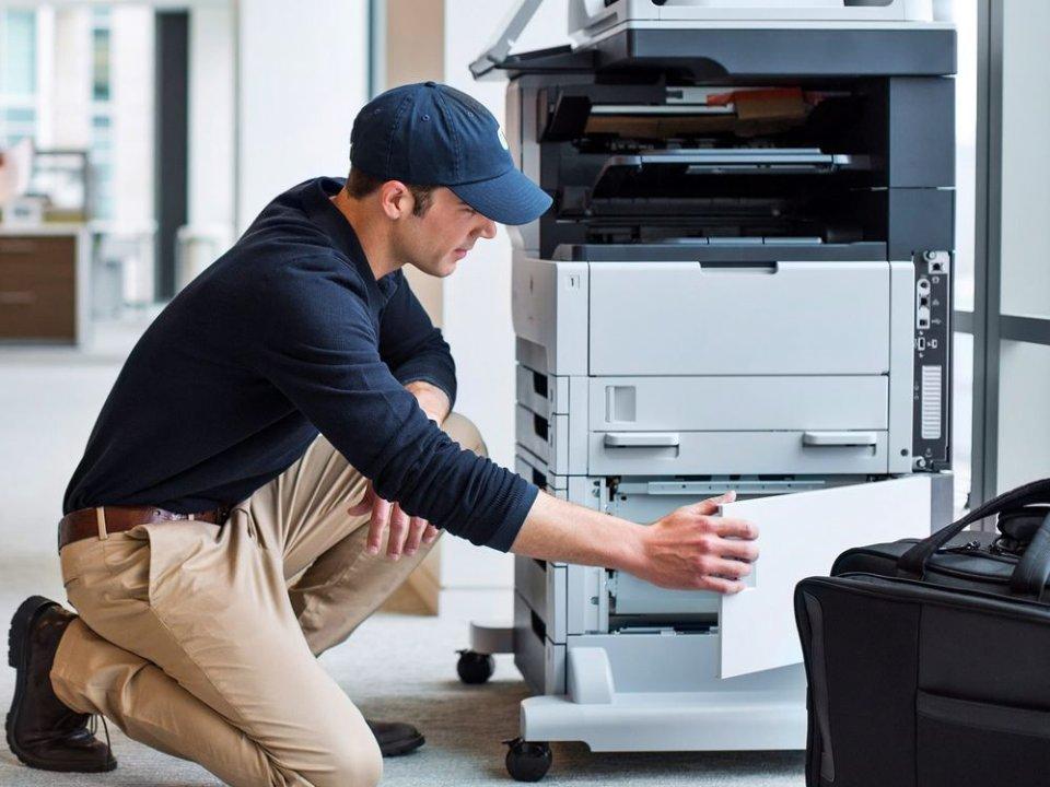 خدمات سرویس و نگهداری دستگاه کپی