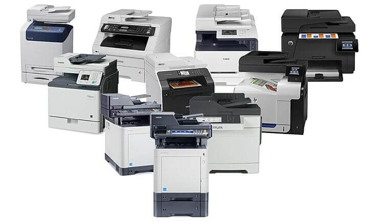 دستگاه کپی و چاپ رنگی