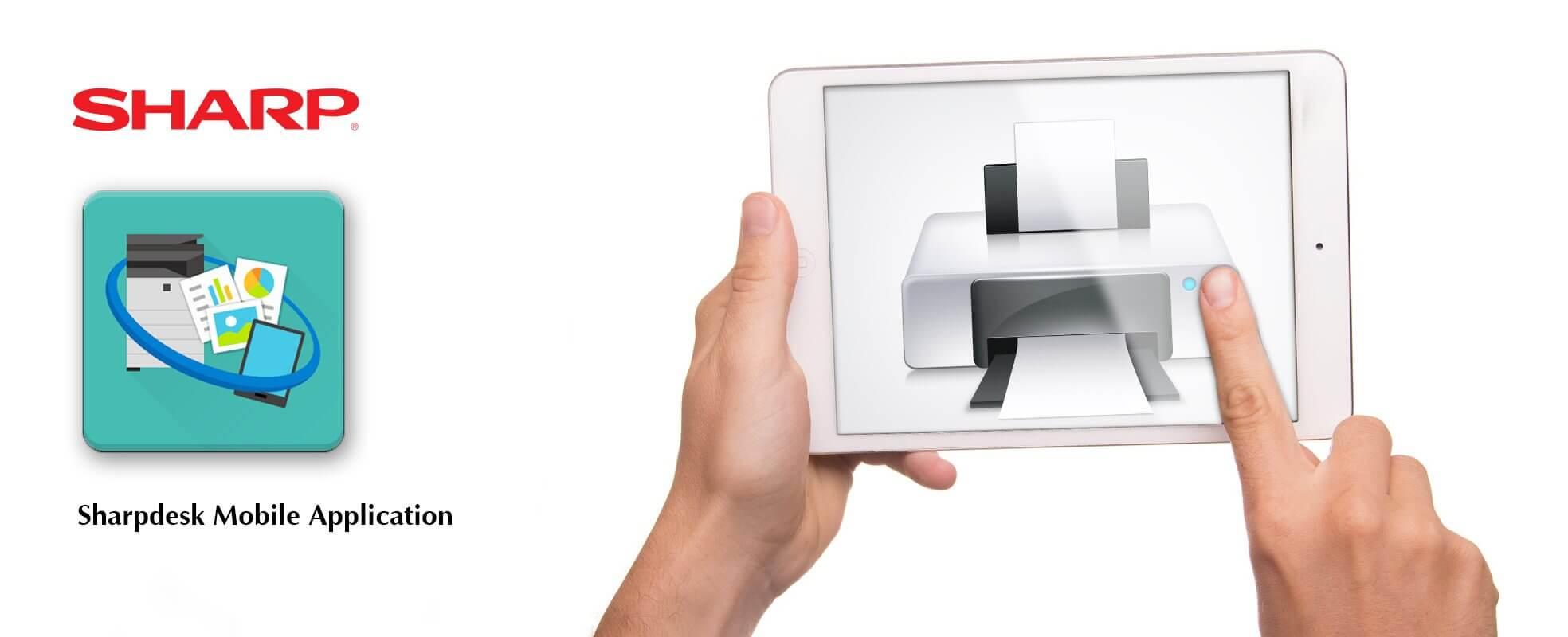 شارپ دسک Sharpdesk ابزار ارتباط دستگاه کپی شارپ