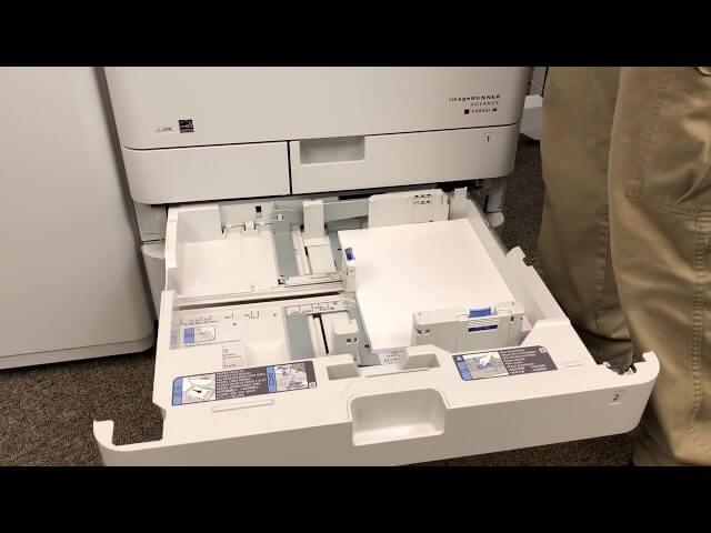 گیر کاغذ از مشکلات دستگاه کپی کیوسرا