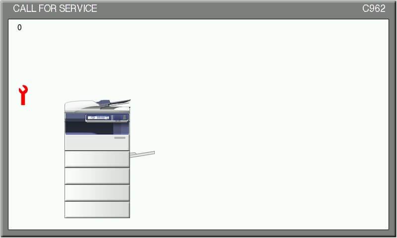 Call for Service تعمیرکار تعمیر دستگاه کپی توشیبا را خبر کنید