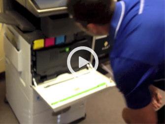 حذف خطوط کاغذ در دستگاه فتوکپی شارپ