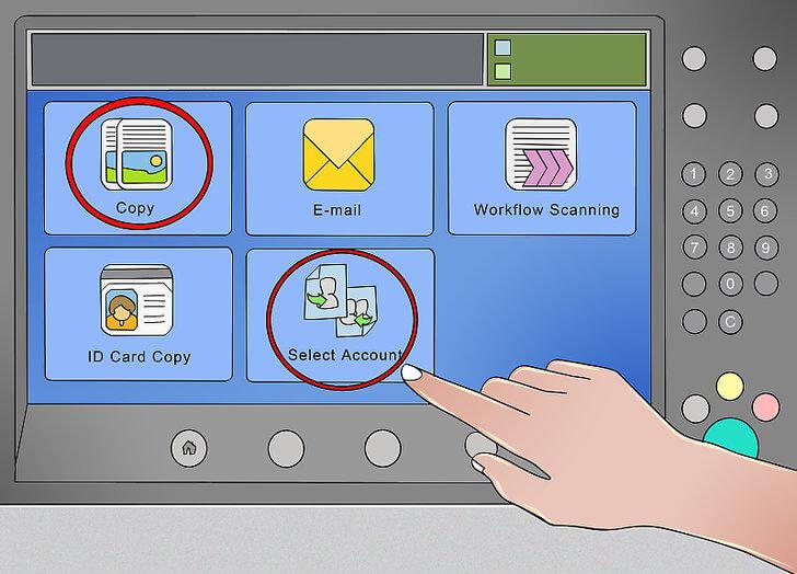 کنترل امنیتی دستگاه فتوکپی