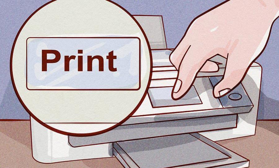 دوباره کار چاپ را امتحان کنید
