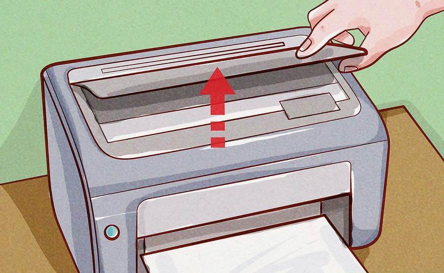 پوشش اصلی را باز کنید همه کاغذ های آزاد را از آن بردارید
