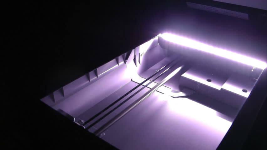 نوشتن با نور در شیوه کار دستگاه فتوکپی