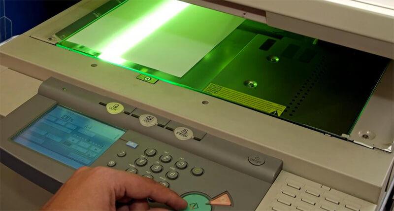 نوشتن با نور|ایده و روش کار دستگاه فتوکپی