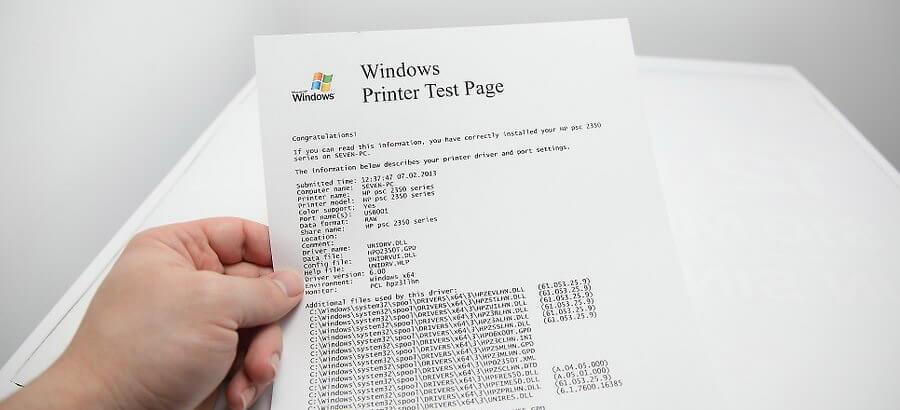 بلافاصله هر چیزی را، فقط برای دریافت اضافات جوهر چاپ کنید. چند صفحه آزمایشی، عکس های ترجیحا با رنگ های مختلف چاپ کنید